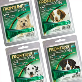 Frontline Plus® - AntiPulgas e Carrapatos
