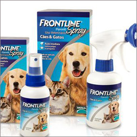 Frontline Spray ® - AntiPulgas e Carrapatos